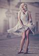 Leinwandbild Motiv sweet Marilyn / Marilyn Monroe 01