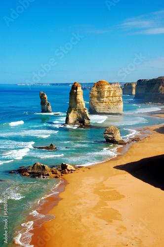 Poster Australie Twelve Apostles on Great Ocean Road, Australia.