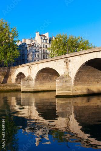 Fotografia Bridge Ponte Marie, Paris.