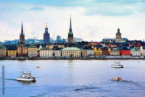 Photo  Stockholm Sweden Cityscape