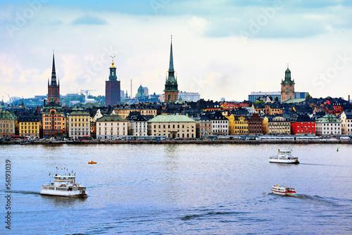 Stockholm Sweden Cityscape Poster