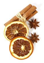 Christmas Decoration: Orange, Anise And Cinnamon;