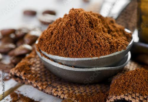 Obraz na płótnie Ground coffee