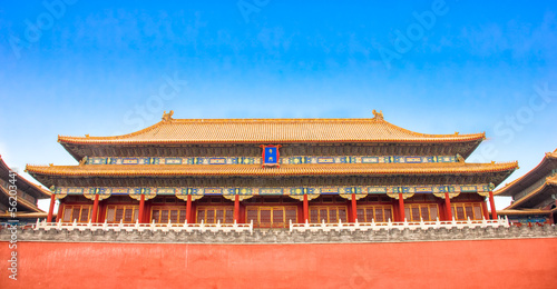 Fotografie, Obraz  The Forbidden City, Beijing, China