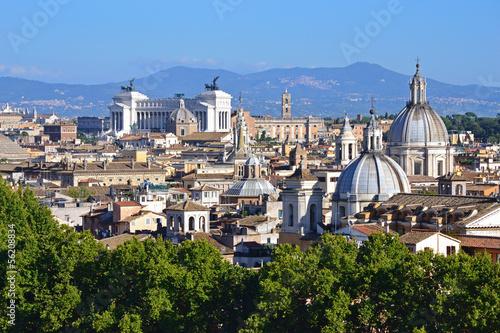 Roma Vista Dalla Terrazza Dell Angelo Buy This Stock Photo