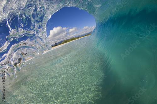 Fotografie, Obraz  Hawaii Empty Wave 4