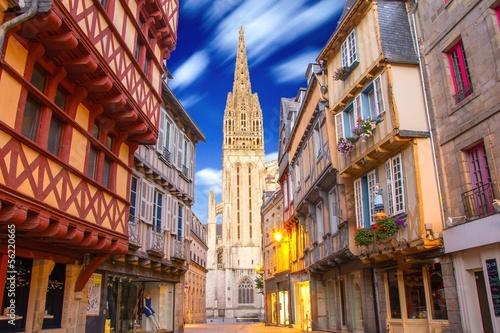 Cuadros en Lienzo Quimper en Bretagne, France