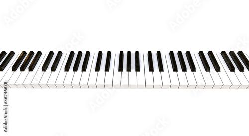 Foto 3D Piano Keyboard