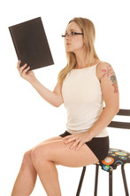 Woman Tattoo Tank Book Up Read