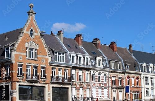 Photo Habitat ancien de style flamand à Cambrai