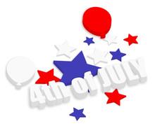 Celebration - 4th Of July Vect...