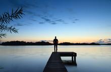 Tranquil Sunset @ Lake