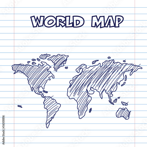 mapa-swiata-doodle-piora-atramentu