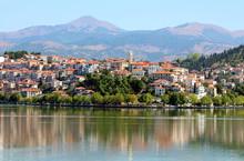 City Kastoria And Lake Orestia...