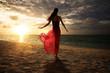 canvas print picture - Sunset Dream
