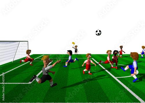 Fussball Regeln Abseits Kaufen Sie Diese Illustration Und