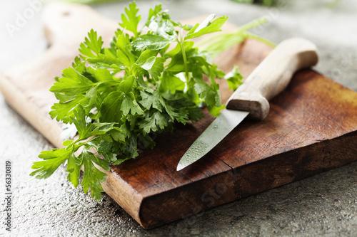 fresh parsley
