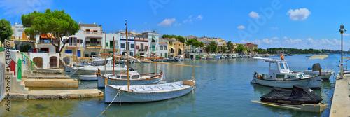 Fotografie, Obraz  Hafen von Porto Colom Mallorca
