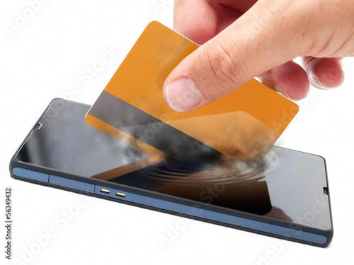 Fotografía  Mobile payment