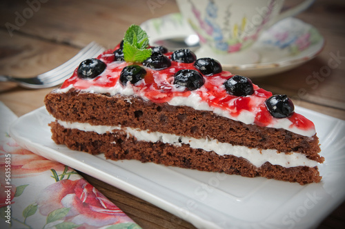 Foto op Canvas Bakkerij Dessert