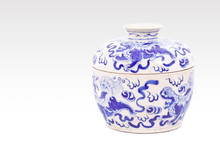 Chinese Porcelain Bowl Isolate...