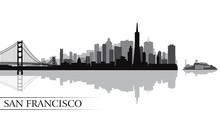 San Francisco City Skyline Sil...