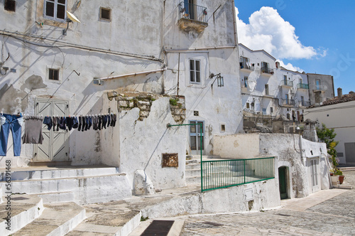 Fototapety, obrazy: Alleyway. Monte Sant'Angelo. Puglia. Italy.