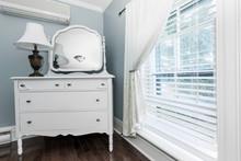 Cottage Dresser With Mirror
