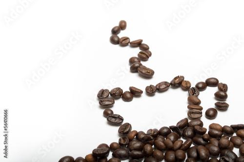 Papiers peints Café en grains Tazza di caffè