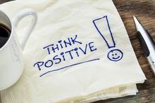 Think Positive On A Napkin