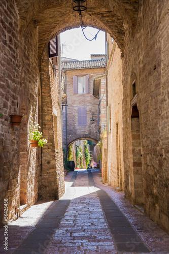 Fototapeta Vicolo di Assisi