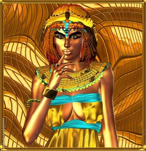 zloty-posag-egipskiej-krolowej-kleopatry