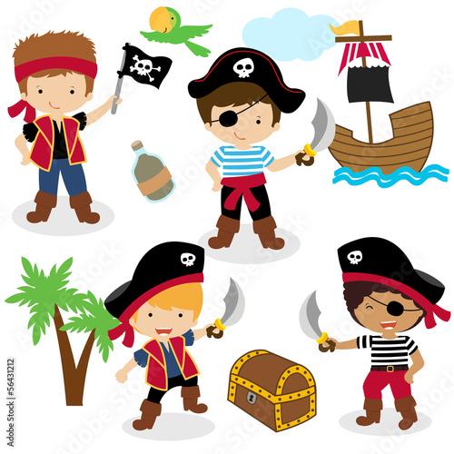 sliczny-zestaw-dzieci-piratow