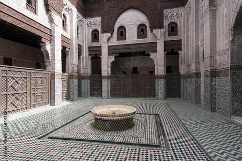 Poster Marokko Fez, Marocco