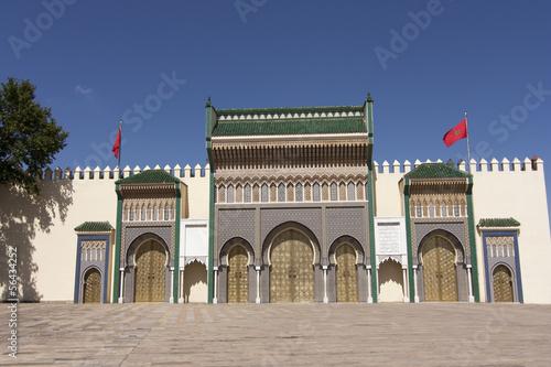 Recess Fitting Morocco Palazzo Reale, Fez, Marocco