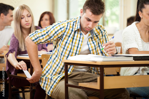 why do college students cheat essay Why students cheat—and 3 ways to stop them february 19, 2014 an associate professor of educational studies at trinity college, in connecticut.