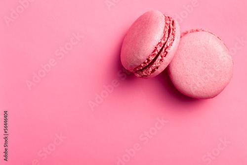 pink macaroons Tableau sur Toile