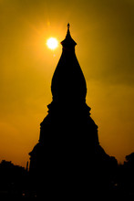 Silhouette Of Phra That Phanom...