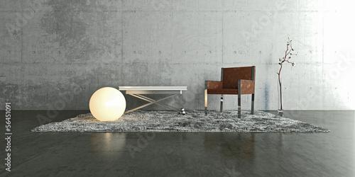Fotografie, Obraz  Interior, Innenraum, Modern, Design