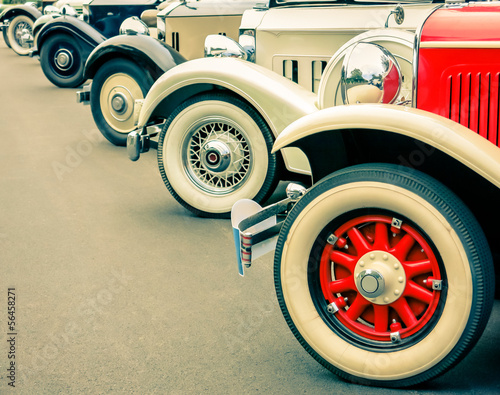 Keuken foto achterwand Vintage cars Vintage Cars Wheels