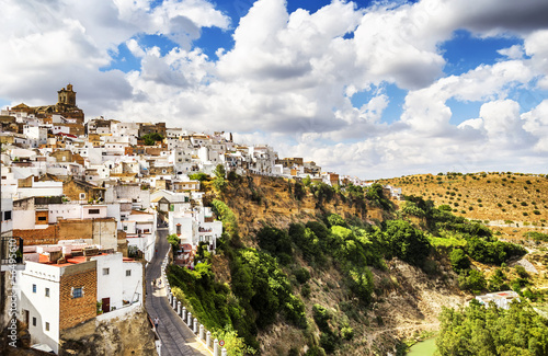 Arcos de la Frontera, beautiful town in Cadiz, Andalusia, Spain.