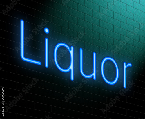 Liquor concept. Wallpaper Mural