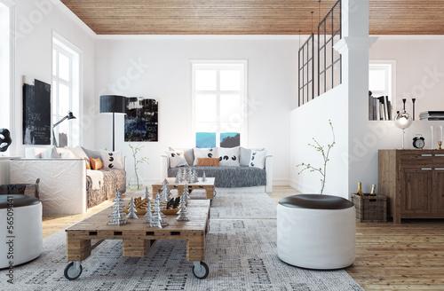 Wohnzimmer Oesterreich Style : Scandinavian style living room wohnzimmer im schweden stil