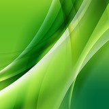 Abstract background with wave