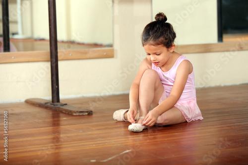 Little ballerina плакат