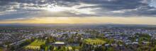 Idyllic Rural, Aerial View, Cheltenham UK