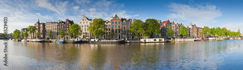 Amsterdam reflections, Holland Canvas Print