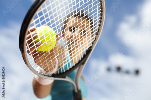 Fotografie, Obraz  Playing tennis