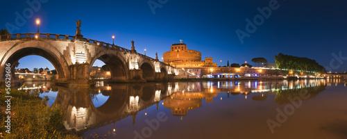Foto op Aluminium Rome Castel Sant'Angelo, Rome