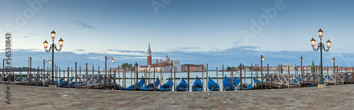 Poster Venise San Giorgio, Venice